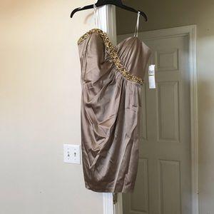 Short Strapless Formal Dress